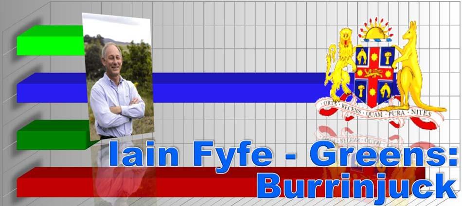 Iain Fyfe - Burrinjuck