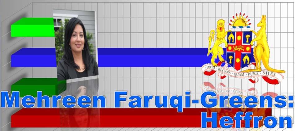 Mehreen Faruqi - Heffron